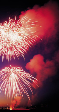 New Year's Fireworks and Resolutions