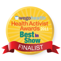 Natasha Tracy Finalist for Best in Show Health Activist Award