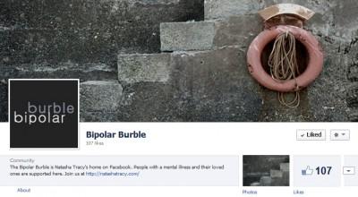 Bipolar Burble Blog Facebook Screenshot