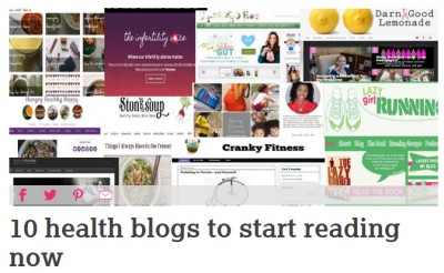 Bipolar Burble has been listed as a top 10 health blog. It's a health blog that, according to Healthista, you have to start reading now!