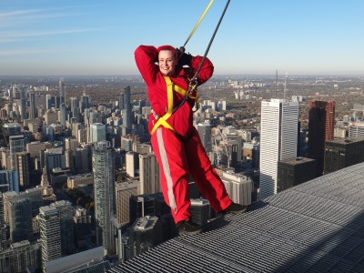 Hanging off the CN Tower is terrifying but having a disability is no picnic either. See how these things collided in my trip to Toronto.