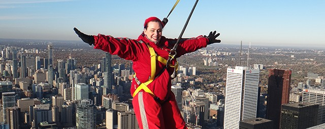 Hanging Off the CN Tower and Disabilities