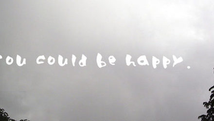 I Want to Be Happy; It's Not My Fault I Can't Be Happy