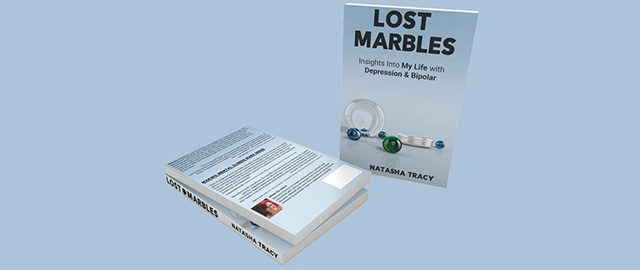 Bipolar Book 'Lost Marbles'  Now Available in Paperback and EBook